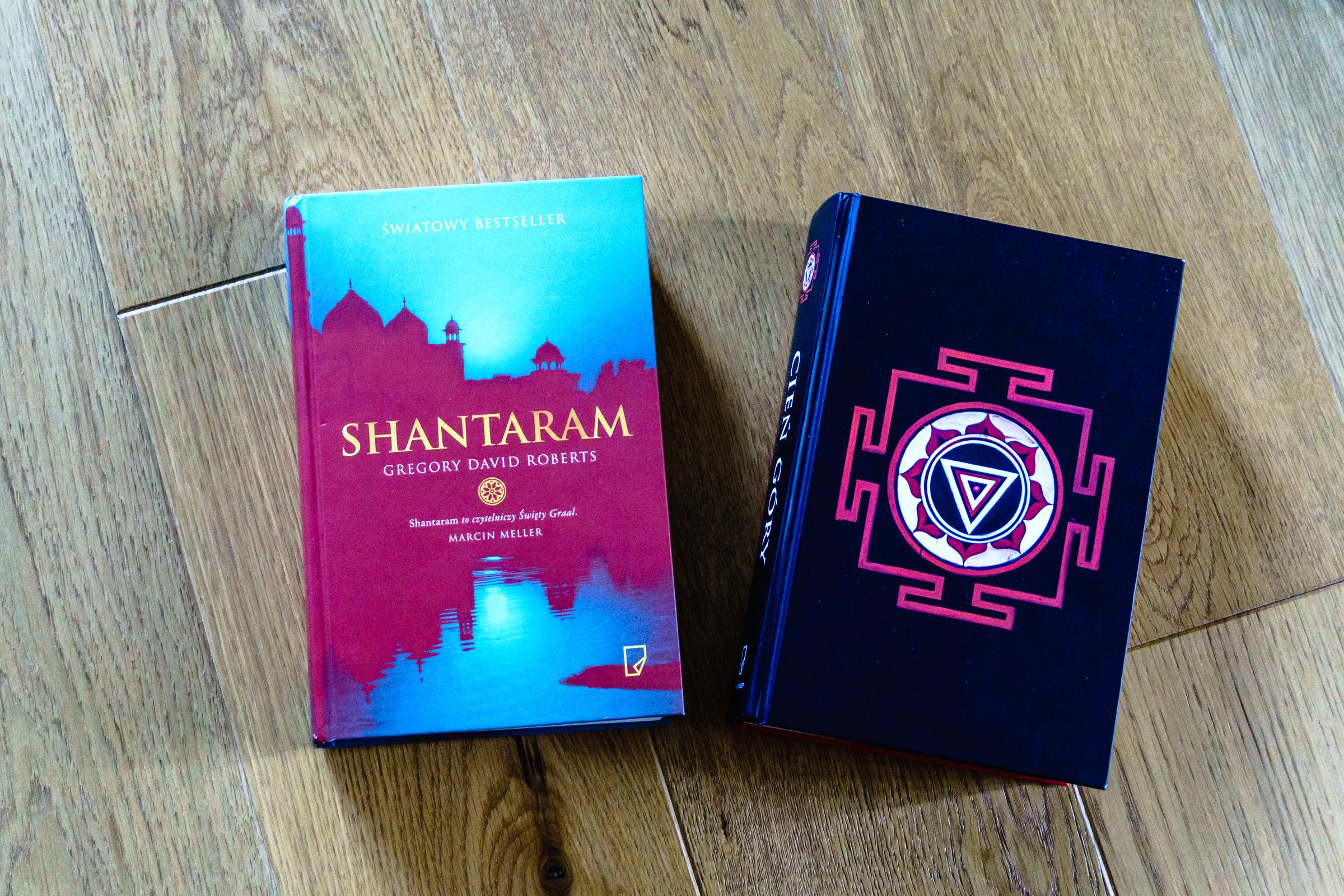 Shanteram i Cień Góry - okładki